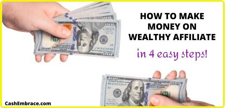 how to make money on wealthy affiliate simple ways to make money online