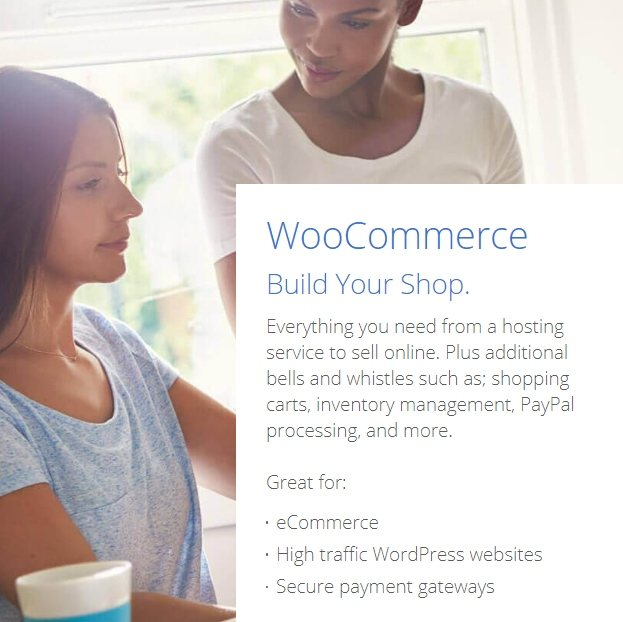 bluehost introducing woocommerce