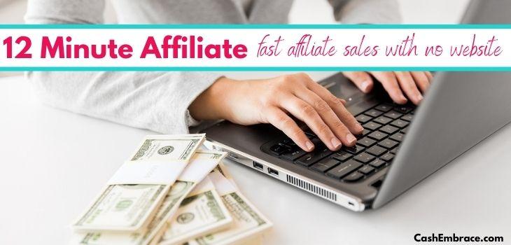 12 minute affiliate review scam or legit