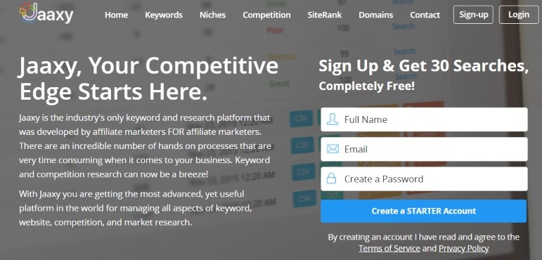 jaaxy keyword research tool - $19 per month