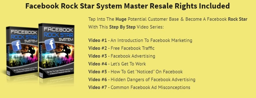niche marketing kit review - the facebook rock star product