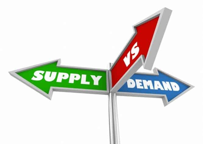 how the law of supply and demand can affect the price of tickets