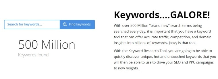 the importance of finding keywords with high traffic and low competition