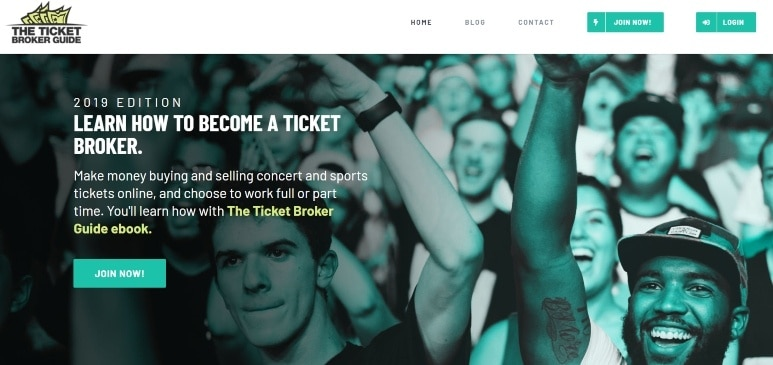 ticket broker guide - introduction of the product