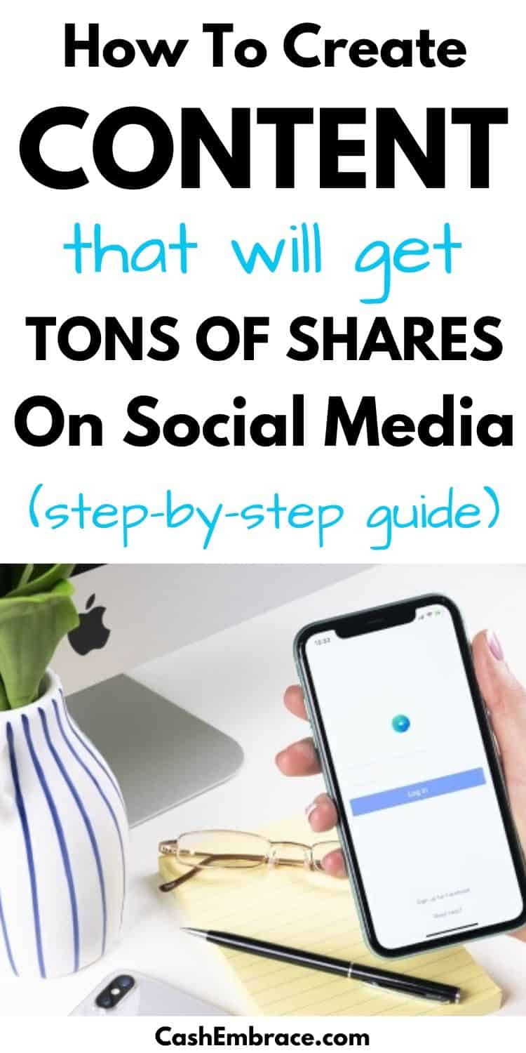 how to create content that will get tons of shares on social media