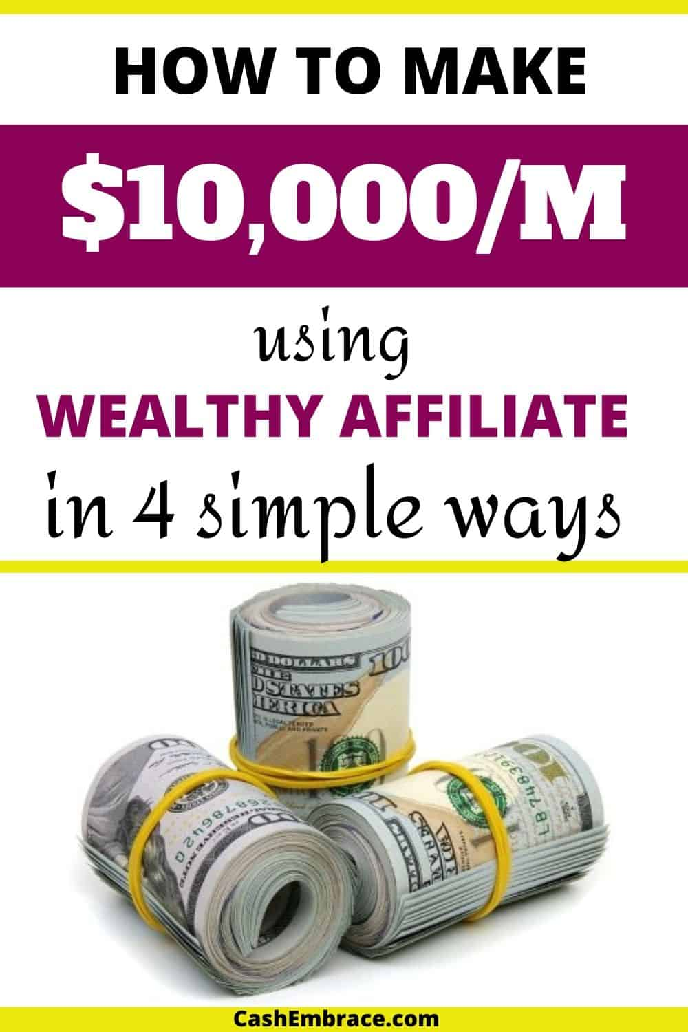how to make money with wealthy affiliate earn $10,000 per month with affiliate marketing