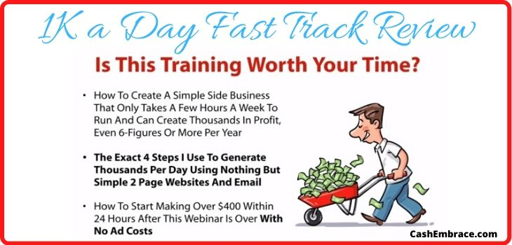 1K a day fast track review scam or legit
