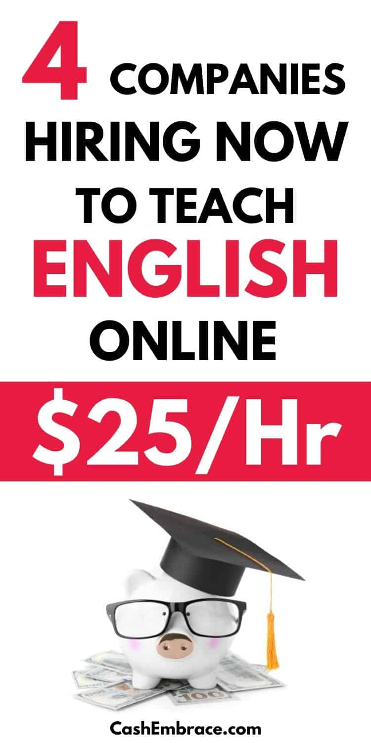 4 companies that will pay you $25 per hour to teach English online