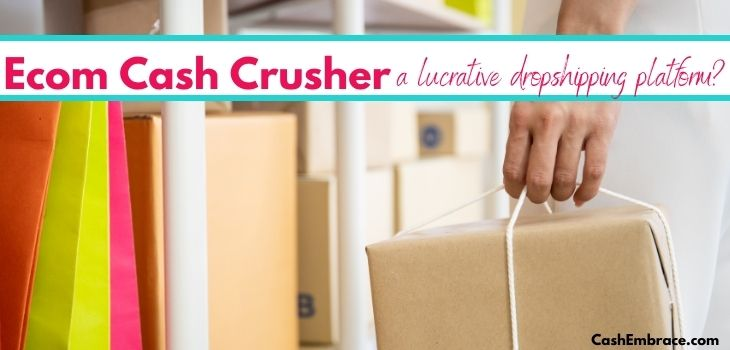 ecom cash crusher scam or legit