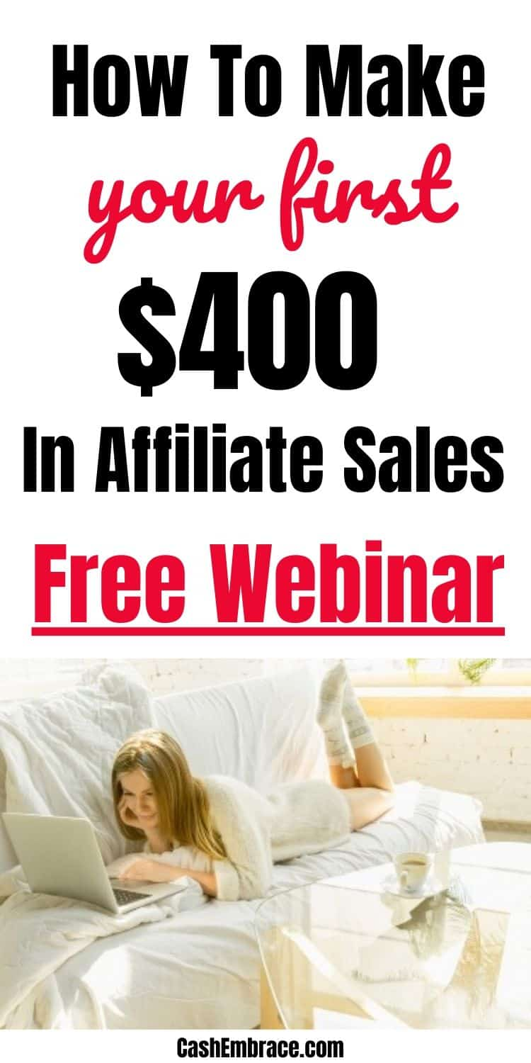how to make your first $400 in affiliate sales in 24 hours