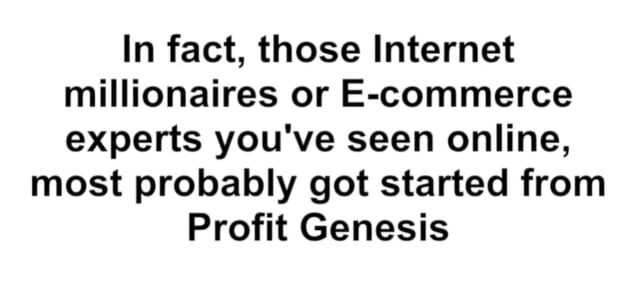 what is profit genesis 2.0 and how does it work