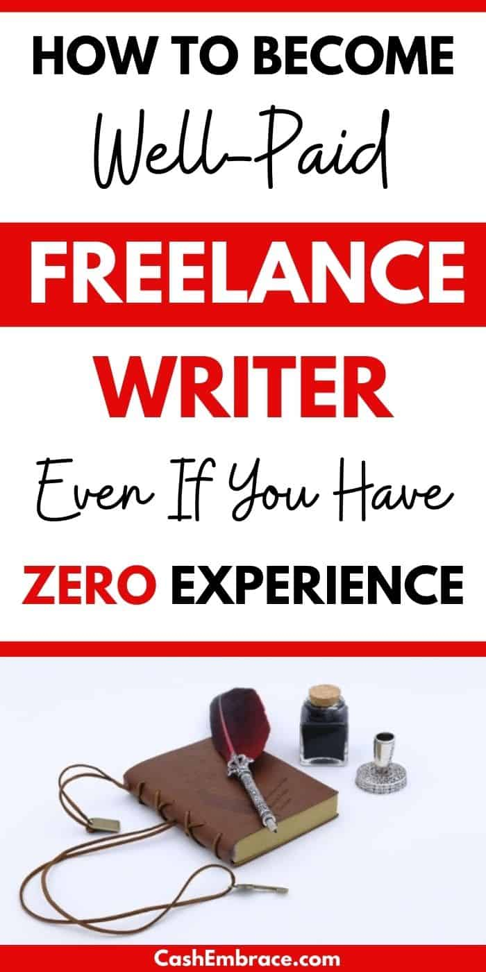 how to become a well-paid freelance writer